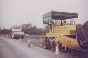 McGraths purchased and installed macadam and asphalt manufacturing plant 1998