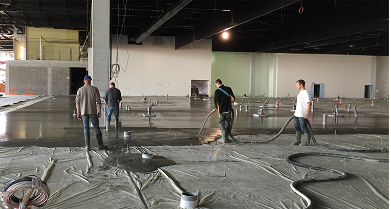 Cemfloor liquid screed installation process