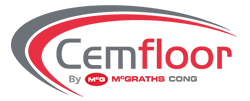 Cemfloor by McGraths Cong logo